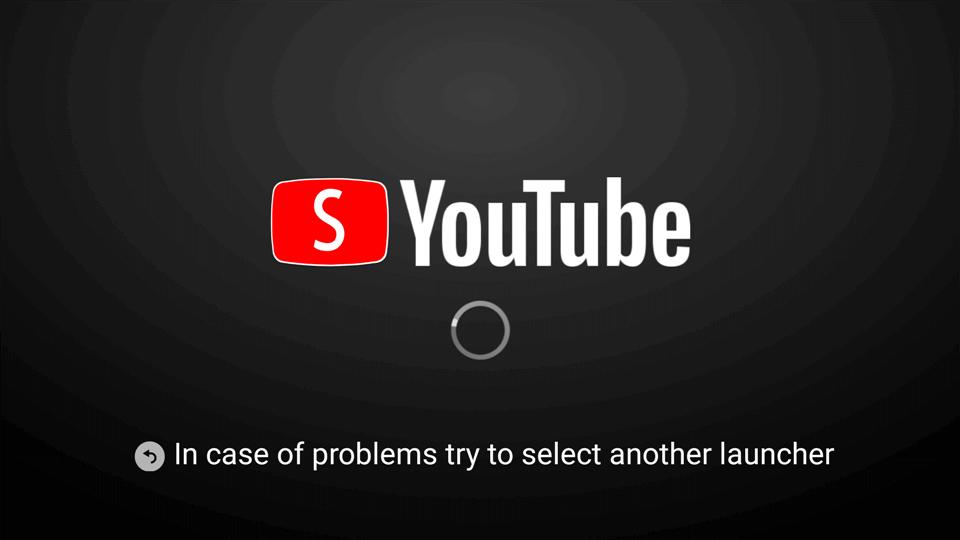 Smart youtube tv loading